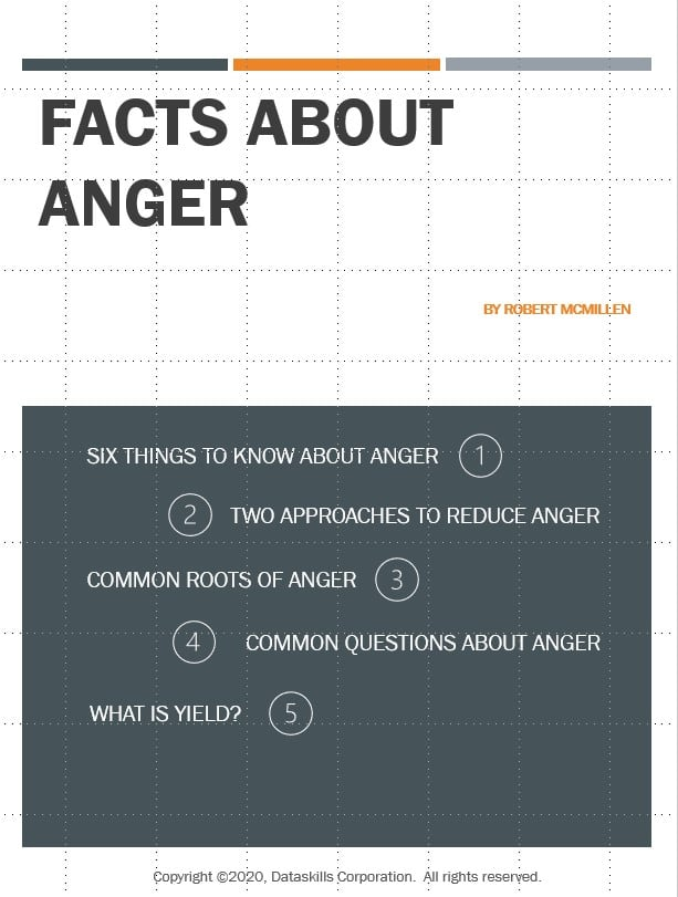 Facts About Anger PDF Download
